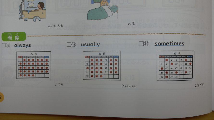 alwaysとusuallyの違い【日本語はむずかしい⁉】